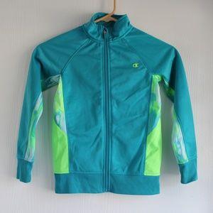 Champion Girls Sz S (6-7) Athletic Zip up Jacket